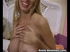 See Mary's pussy filled with her favorite sex toy