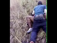 Principal and student have sex in the bush hidden camera