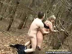 Sucking and Fucking in the Woods