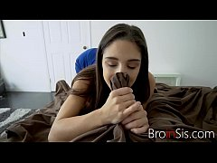 Babe loves blowing her brother
