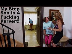 BANGBROS - Stepmom Julia Ann Has Threesome With Maid Abby Lee Brazil