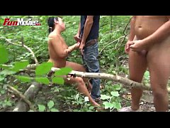 FUN MOVIES German amateur dogging in the woods