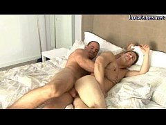 Gay sucking a massive dick and gets fucked