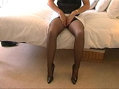 My MILF Wife In Stockings