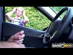 BANGBROS - Flashed Dick At Precious Blonde Girl Walking Down The Street