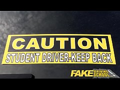 Fake Driving School New driver gets a crash cou...