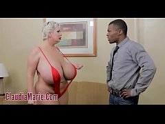 Huge Tit Prostitute Claudia Marie Destroyed By Black Stud