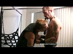 Clip sex Mature Leather Daddies Fuck In A Sling