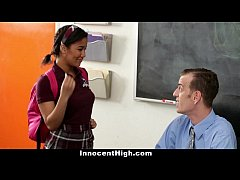 InnocentHigh - Ebony Schoolgirl Loni Legend Fucks Teacher