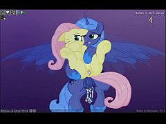 Fluttershy & Luna Lucent Dreams