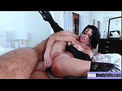 (Veronica Avluv) Big Round Tits Mommy In Hardcore Sex Tape clip-30