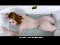 GingerPatch - Slutty Ginger Teen Katy Kiss Pulsating Pussy Gets Fucked