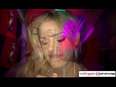 Jessa Rhodes in the champagne room for a nice dance, cock sucking experience