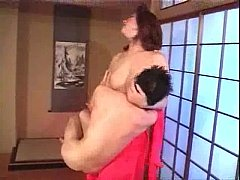 Topless Jap Girl lift small nude Jap Guy