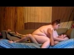 fat teen wife ride husband dick and takes a creampie