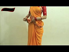 Sexy Girl Saree Tutorial