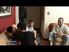 Lusty for boys oldie picks up three twink cutie