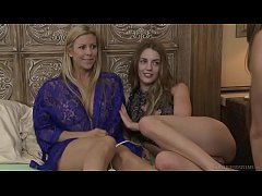 Alexis Fawx and the younger lesbian Blake Eden