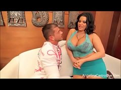 busty cuban angelina castro picks up a lucky tourist and has sex with him