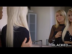 BLACKED First Interracial Foursome For Elsa Jean And Zoey Monroe