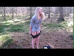 Girls4cock.com *** Girl in the forest