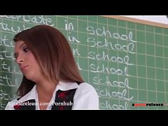 "Alexis Brill's pain ""I will not masturbate in school"" - www.tube8.com"