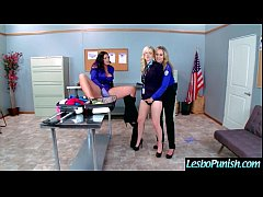 (alison&charlotte&julia) Lovely Lez Girl Get Sex Toy Punish By Mean Lesbo mov-08