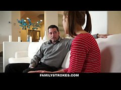 FamilyStrokes - Step-Daughter Learns To Be A Go...