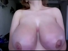 huge perfect massive natural webcam boobs
