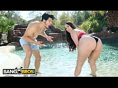 BANGBROS - Latina Alycia Starr Gets Her Marvelous Big Ass Worshipped By Bambino