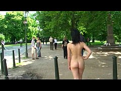 Spectacular Public Nudity With Hot Czech Girls