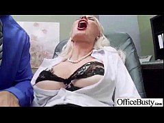 Busty Sexy Worker Girl (gigi allens) Get Hard Style Banged In Office clip-16