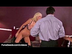 Swedish Hotness, Puma Swede & Canadian Penthouse Pet, Nikki Benz get both their wet juicy pussies & dirty talking mouths, stuffed, fucked & cummed in, during this hot threesome!