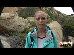 HD Amazing Hiking POV Threesome with Penny Pax and Sarah Shevon