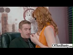 Hardcore Sex In Office With Huge Boobs Girl (Lauren Phillips) vid-17