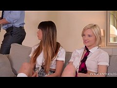 Clip sex X-Rated After School Studies - Extremely Hot Teen Threesome