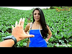 MAMACITAZ - Hot Colombian Brunette Mary Fuego Gets Her Pussy Deep Pleased By Alex Moreno