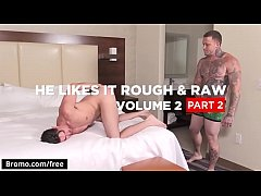 Gage Unkut with Jack Hunter at He Likes It Rough Raw Volume 2 Part 2 Scene 1 - Trailer preview - Bromo