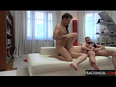 Czech Cutie Anie Darling into Hardcore Pounding with Rocco Siffredi and John Price