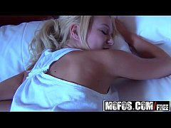 My Little Slut (Destiny Blonde) gets woken up with a hard cock - MOFOS