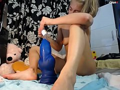 Giant BBC ,This Young Teen Stretches her Little Baby Ass To a Supersize BlackHole!! Fuck me on www.girls4cock.com/siswet19