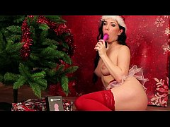 Daphne Angel Juicy Christmas orgasms