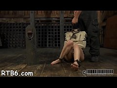 Serf gets her beaver punished from lusty headmistress