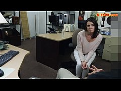 Customers wife banged by nasty pawn guy