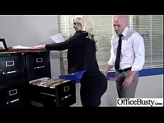 Busty Girl (julie cash) Get Hard Style Nailed In Office vid-22