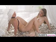 Babes - Soft As Feathers  starring  Tiffany Doll and Olivia Grace clip