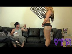 BALLBUSTING THE SUPER STAR FEMDOM CBT SMOTHER