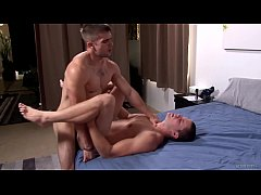 ActiveDuty Staight Military Hunk Barebacks His Best Friend