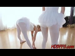 Real teenage ballerinas suck and ride huge fat cock  hi def in point of view
