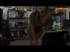 Tight brunette babe nailed by pawn dude